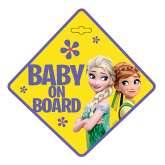 Frozen Disney zawieszka Baby On Board