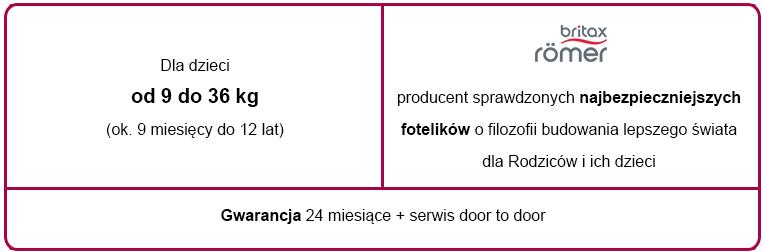 e-foteliki romer advansafix tabelka informacyjna