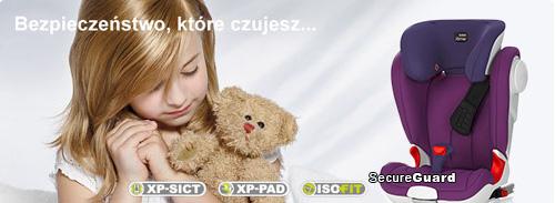 e-Foteliki.pl Romer Kidfix II XP SICT bezpieczeństwo które czujesz